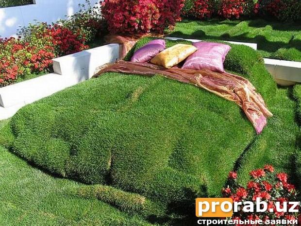 Зеленый дом!