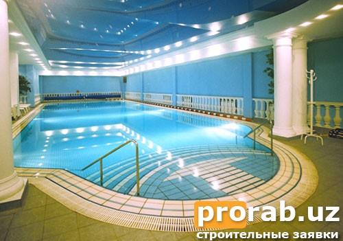Строительство бассейнов в Узбекистане