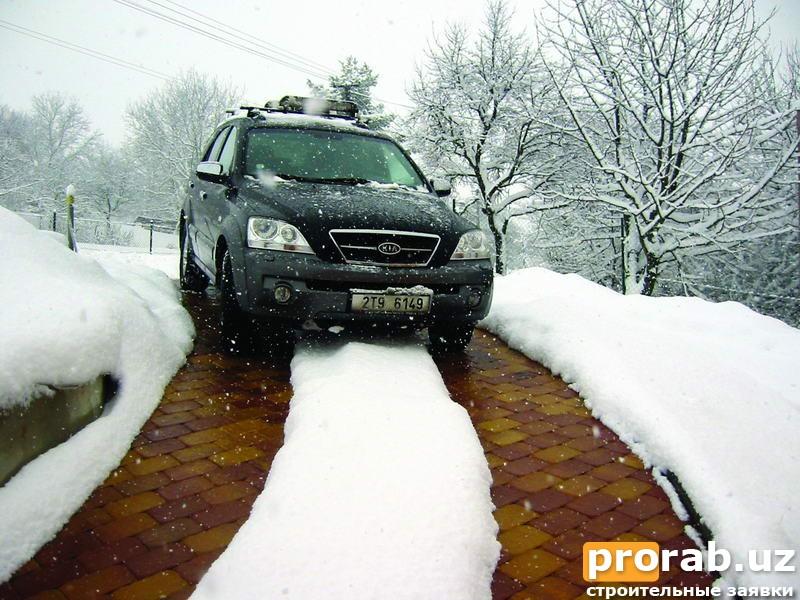 Системы снеготаяния Devi Tashkent