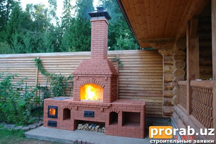 Строительство летних кухонь Барбекю