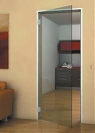 Стеклянные двери - красиво и оригинально