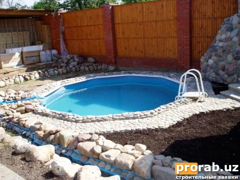 Моя мечта бассейн.