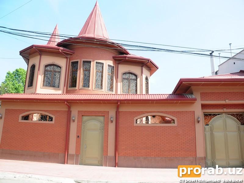 Фасадные работы в Ташкенте