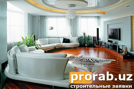 Красивое оформление гостиной