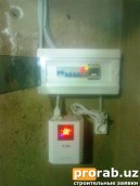Защита на газовые отопительные котлы от перепадов напряжения.