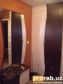 Встроенный шкаф.