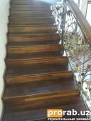 лестница из ореха