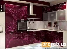 Печать ультрафиолетовыми чернилами на МДФ (шкафы, кухонная мебель, кровати и т.д.)