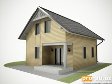 Строительство домов из металлокаркаса, отделка фасадов мет...