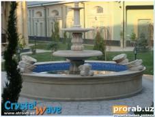Фонтаны и скульптуры любой сложности. От мала до велика. Поющие фонтаны, фонтаны из цельно...