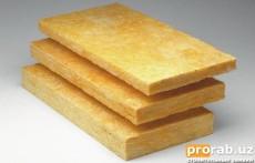 Минеральные плиты теплоизоляционные пл от 30 до 120 гр/м2...