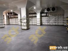 Промышленные бетонные полы - Холодильная камера