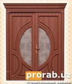 Двери межкомнатные, модели Giza Front. Натуральный шпон - дуб.Все двери от компании Progr...