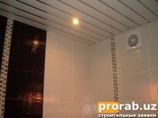 Освещение и вентилятор в ванной!Конечный результат!