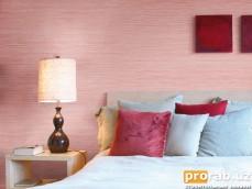 """Креос Фил Позе - декоративная штукатурка для стен. Достигается эффект """"льняных волоко..."""