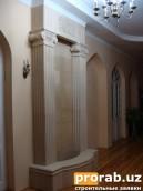 Изготовим для Вас, на заказ или по Вашим чертежам, элементы архитектурного декора в Ташкен...