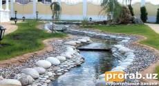 Строительство водопадов, прудов, водоемов, бассейнов, фонтанов, ландшафтный дизайн!Довер...
