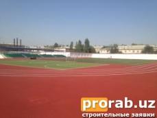 Спортивное площадка Покрытие Conipur SP. г.Ташкент, Лицей при Институте им.Губкина