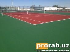 Спортивное покрытие Ac Play Hard. г.Нукус