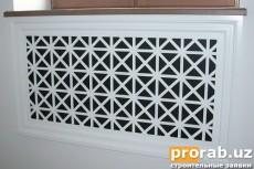 Декоративные Радиаторные обрешетки любой сложности, обработанные на ЧПУ станке.