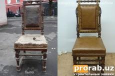 Реставрируем ремонт диваны, кресла и другую мягкую мебель. - замена старого материала на ...