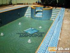 Строительство бассейнов в Ташкенте. Basseyn qurulish bilan shugilsnsmiz