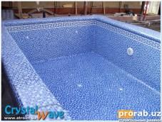 """Строительство бассейнов Наш """"конек"""". Чашу заливаем за раз, без холодных швов, ги..."""