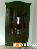 Дверь из материала МДФ шпонированный обкладной цена от 350.000 м2