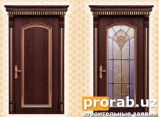 Двери межкомнатные, модели Imola Gold и Imola Gold Glass. Натуральный шпон - венге.Все дв...