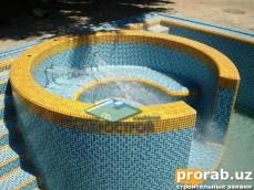 Строительство бассейнов в Узбекистане. Basseyn qurulish bilan shugilsnsmiz