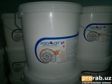 Изоллат 01 — материал с использованием тиксотропных добавок. Применяется для защиты и теп...