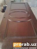 """Дверь модель """"КАНАДКА"""" цена 170.000сум (Используем при изготовлении турецкий лак..."""