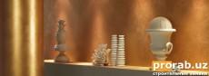 """Империум - декоративная отделка стены """"под золото"""". Создает престижный интерьер ..."""