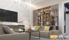 Современный, светлый дизайн квартиры в Ташкенте