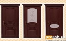 Двери межкомнатные, модели Carlo, Carlo Glass, Carlo Lake. Натуральный шпон - венге.Все д...