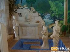 Мои выполненные работы в Ташкенте. Скульптуры по Узбекистану