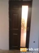 """Дверь модель """"КАНАДКА"""" (стеклянный) цена 200.000сум (Используем при изготовлении..."""