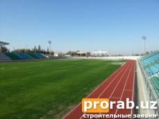 Спортивное покрытие Conipur SP. Стадион г.Замин