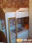 Мебель для детской.Материал:ЛМДФ,кромка ПВХ,матрац ортопедический.