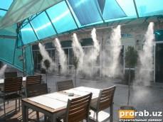 туманное охлаждения кафе