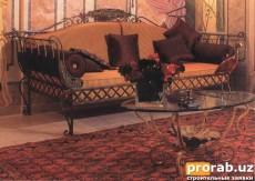 диван кованый