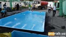 Готовый бассейн в Коканде 10-4.2