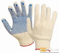 Перчатки пятипалые