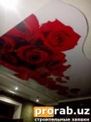Фото печать розы