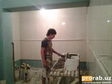 Укладка плитки, декоративного паркета в Ташкенте