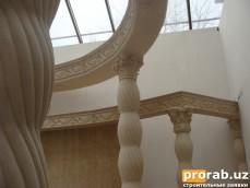 Изготовим для Вас, на заказ или по Вашим чертежам, элементы архитектурного декора в Узбеки...