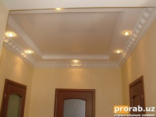 Потолок комбинированный (частный дом)