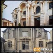 Двухэтажный дом в центре города, по эскизам нашего проекта...