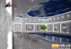 бассейн на цокольном этаже