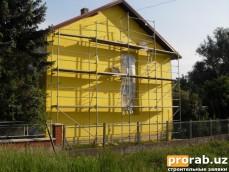 Теплоизоляция фасадов,коттеджей, кровли, памятников архитектуры,межпанельных швов и стыков...